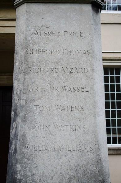 Pontrhydyrun War Memorial Left Face