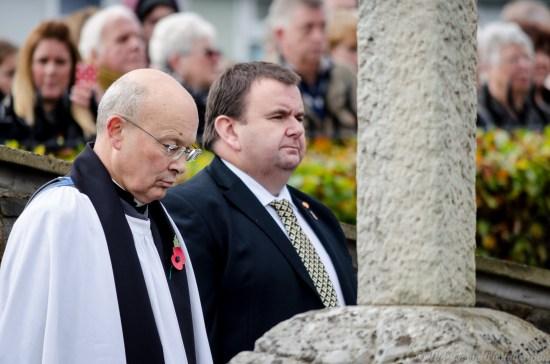 Cwmbran Remembrance Day, 9th November 2014