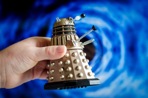 Dalek Toy and Time Vortex