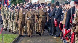 Cwmbran Remembrance Day, 13th November 2016