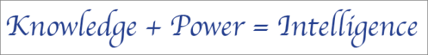 knowledge power intel
