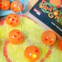 Lichterkette inspiriert von Dragon Ball // Daragonball diy Dekoration
