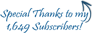 Special Thanks Subscribers