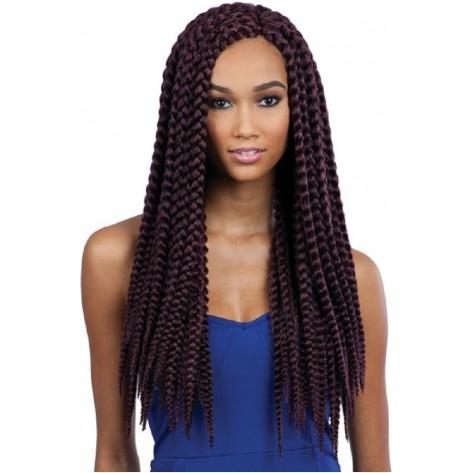 types of hair braids - jumbo box braids
