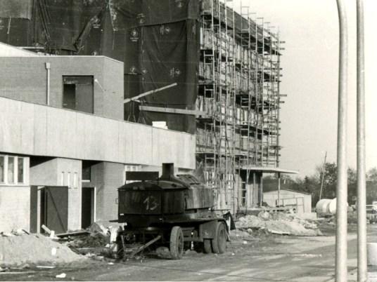 EEZ Elbe-Einkaufszentrum Baustelle