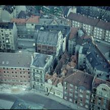 Hamburg Rundblick vom Michel ca. 1959