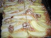 Birnen-Apfelkuchen vom Blech