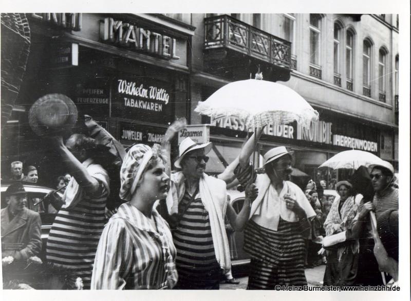 Hamburg – Ein Umzug durch die Innenstadt – 60er Jahre