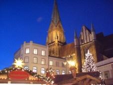 Marktplatz mit Schweriner Dom