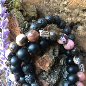 Crystal and Diffuser Bracelets