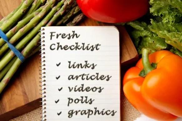 Fresh Checklist