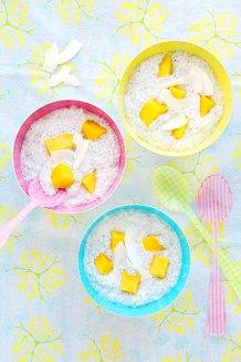 Kokos-Mango-Chiaseed-Pudding
