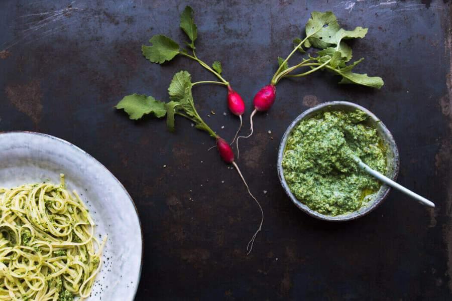 Leaf to Root Pesto