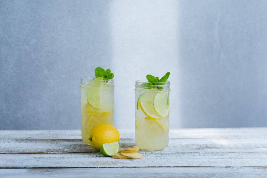 Lemon Mint Switchel