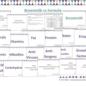Breastmilk vs Formula