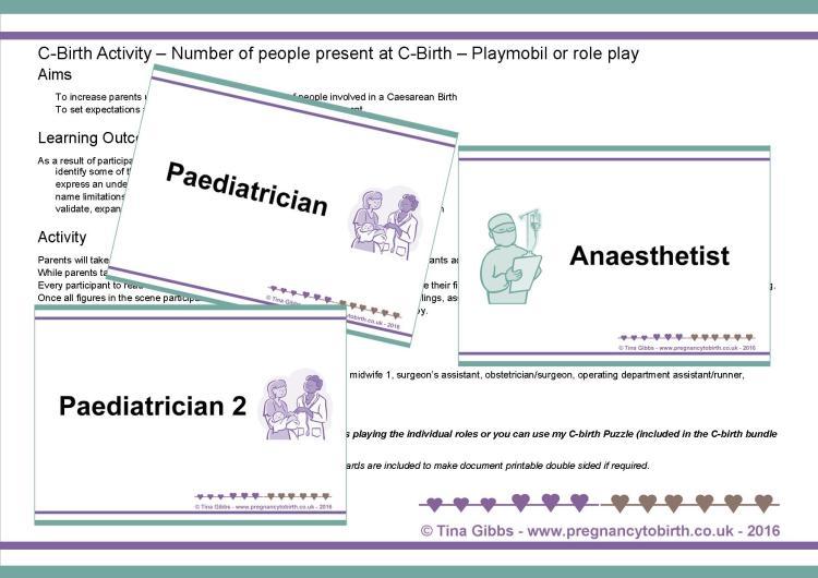 Caesarean Birth Role Play