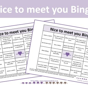 Icebreaker Bingo - Nice to meet you