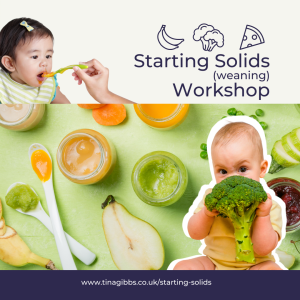 starting solids introducing solids weaning