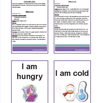 Crying Baby Discussion Cards