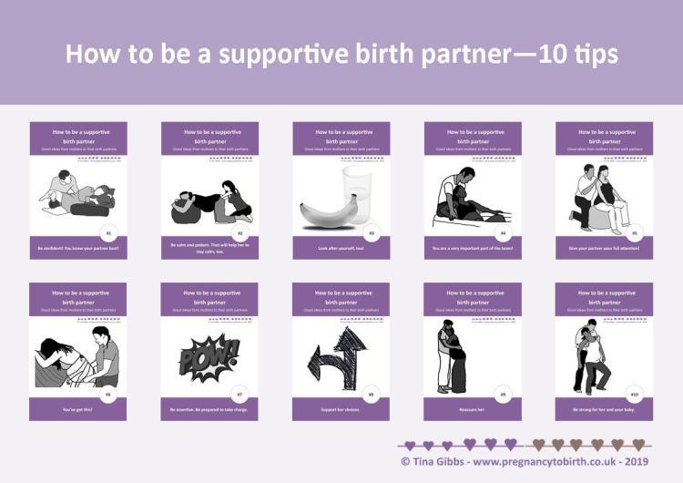 Birth Partners - 10 Tips