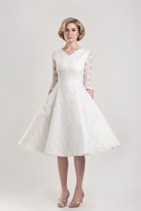1950'S Tea Length Wedding Dresses Uk