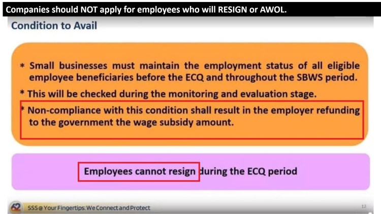 9 - Companies should Not Apply for Resigned Employees B