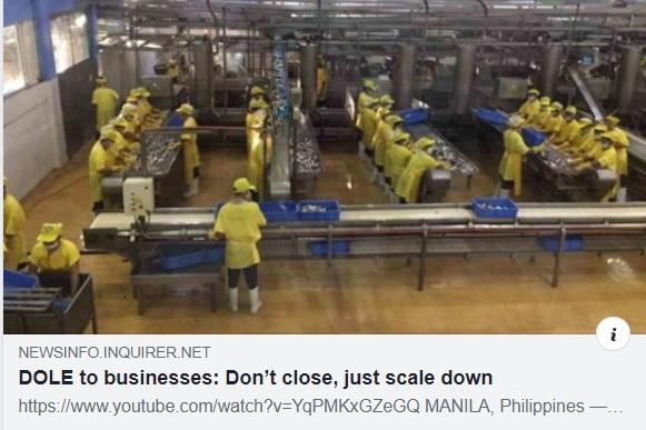 DOLE don't close