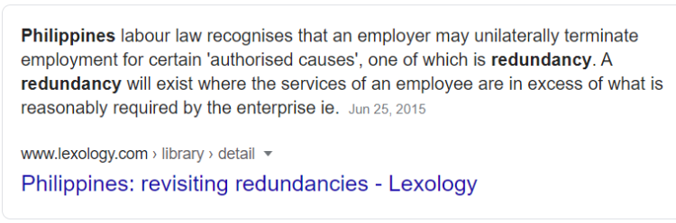 Redundancy Definition