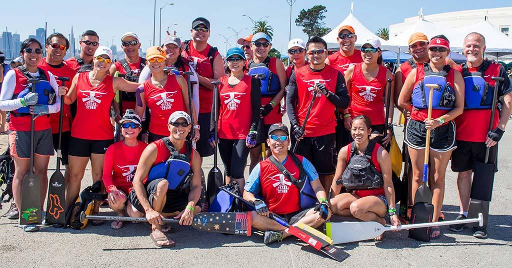Texas Storm team in SF