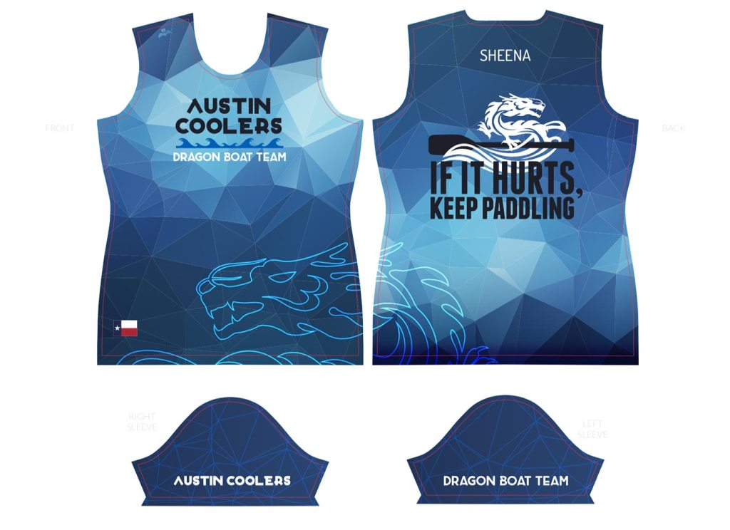 Austin Coolers 10th anniversary jersey
