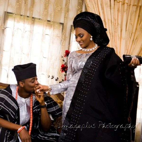 Yoruba traditional wedding dresses