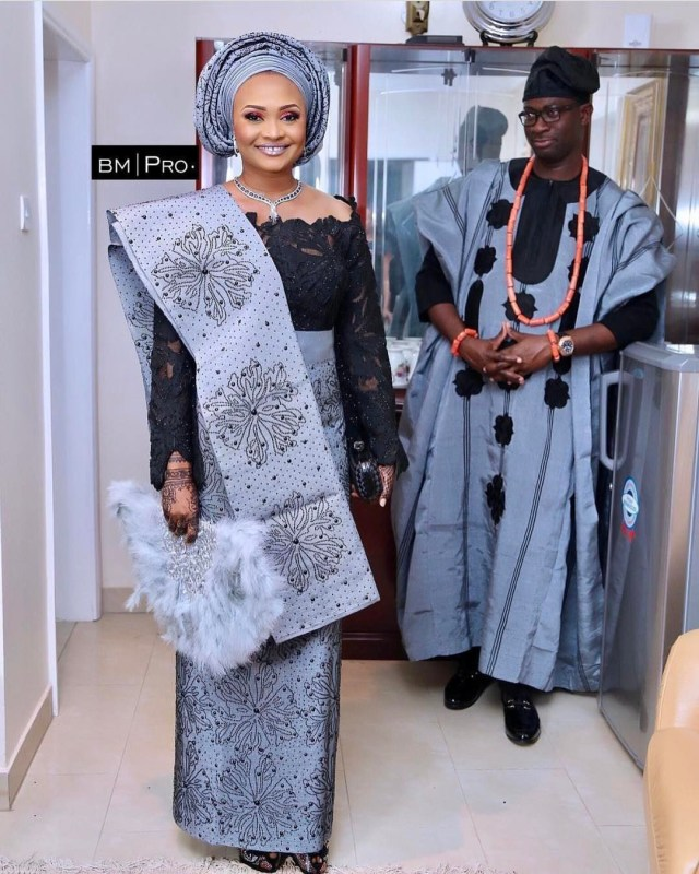 Nigerian Traditional Wedding Attires