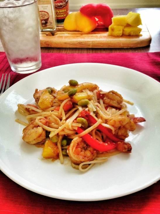 Sesame shrimp aug 13