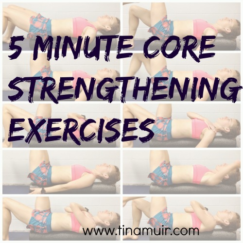 Secrets to Success: 8 Minutes to a Stronger Core