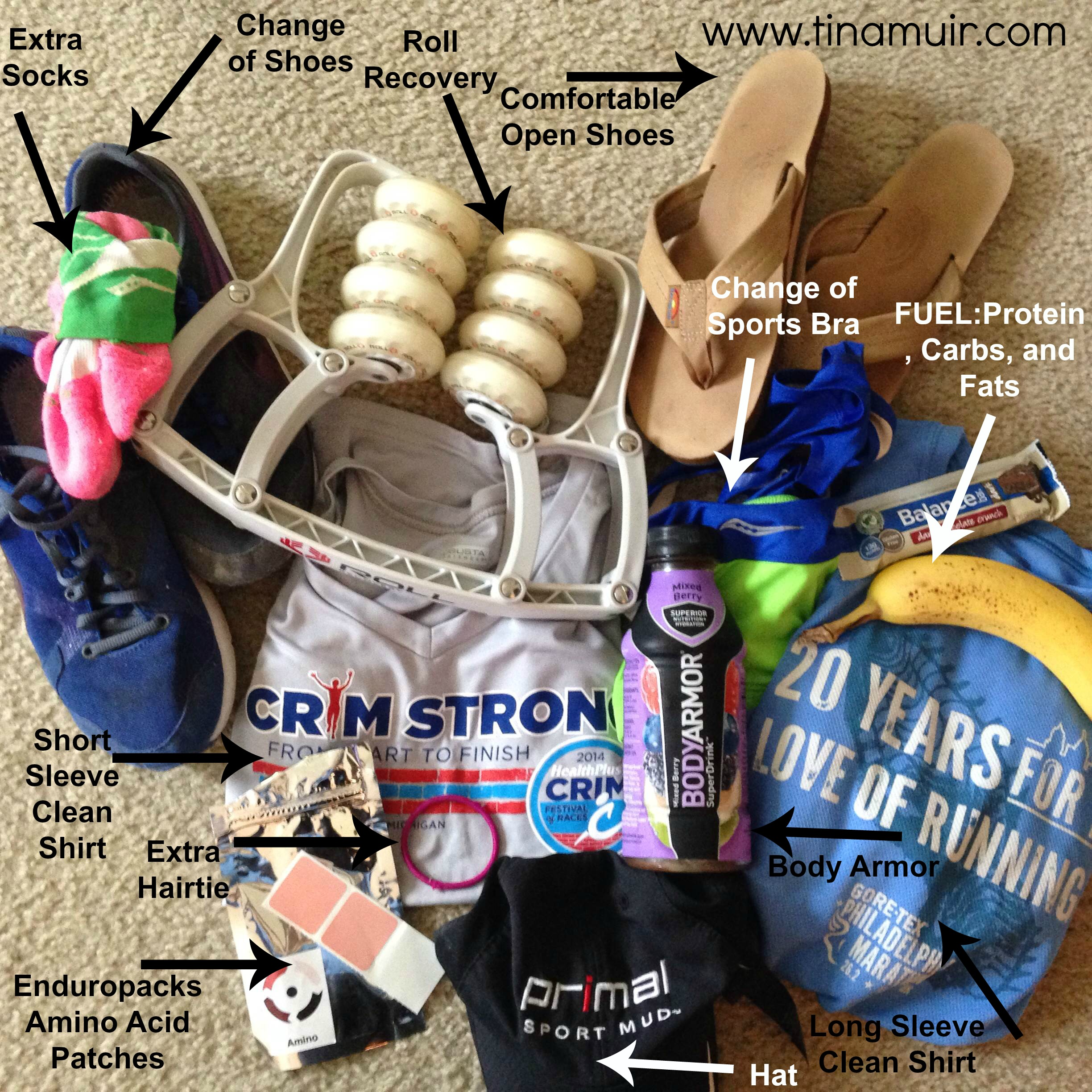 25 Must Have Items for Race Day- An Elite Guide