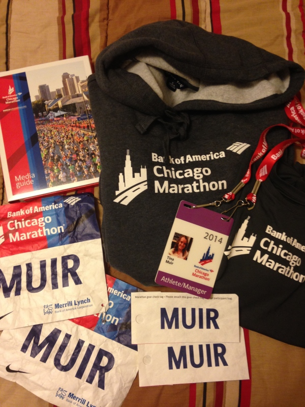 The Elite Experience- Chicago Marathon 2014