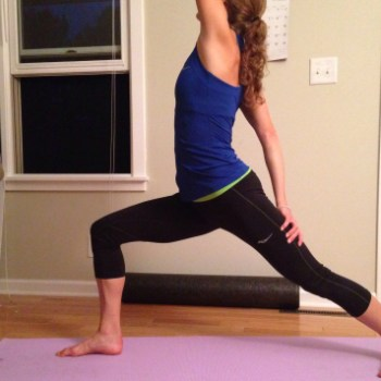 This hip opening yoga sequence for runners has really helped me feel better on runs! I do it 4-5 times a week!