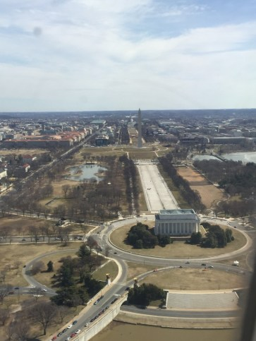 View from Washington DC
