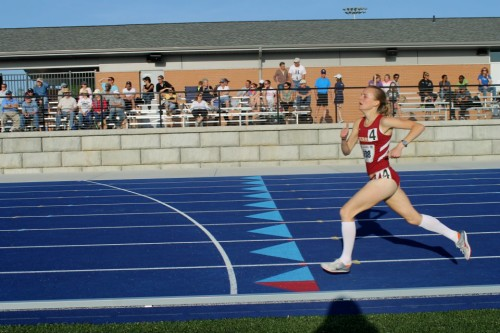 Tina Muir collegiate athlete