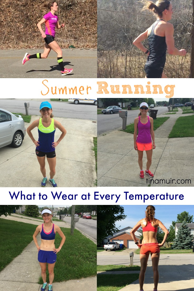 Summer Running- What to Wear at Every Temperature