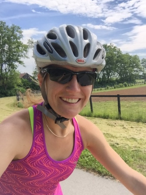 Tina Muir Biking