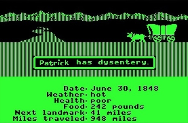 Running is like Traveling the Oregon Trail- Patrick Rizzo