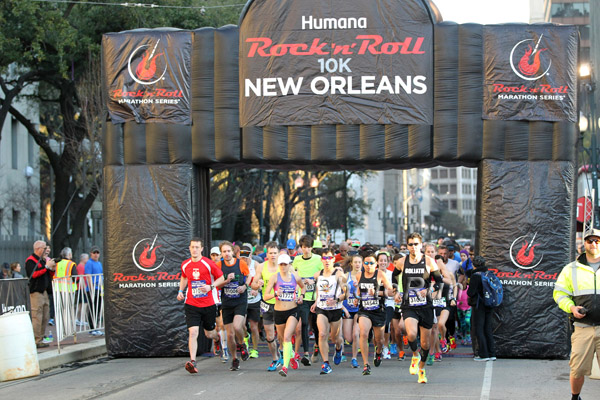 My Win at the Rock 'n' Roll New Orleans 10k