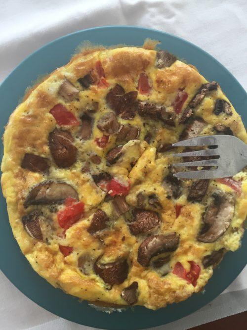 Tina omelette