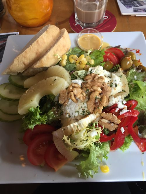 tina salad