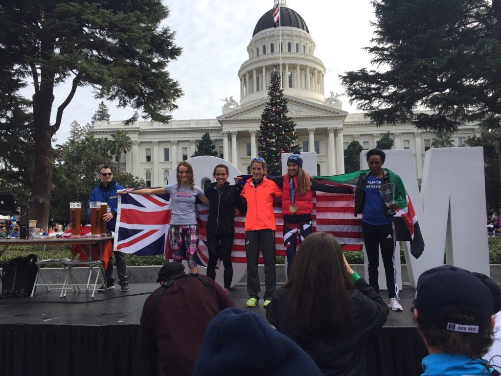 2:36:39 and 5th Place Woman at CIM: Quick Update