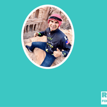 Runners know how good running makes us feel, but what about runners in war ridden countries or places of conflict. This 2:25 marathoner from Jordan is an advocate for positive change, and believes running can make our world a much better place.