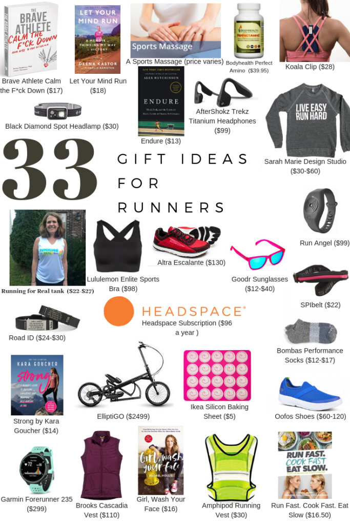 best gifts for runners 2018 holiday gift guide running for real