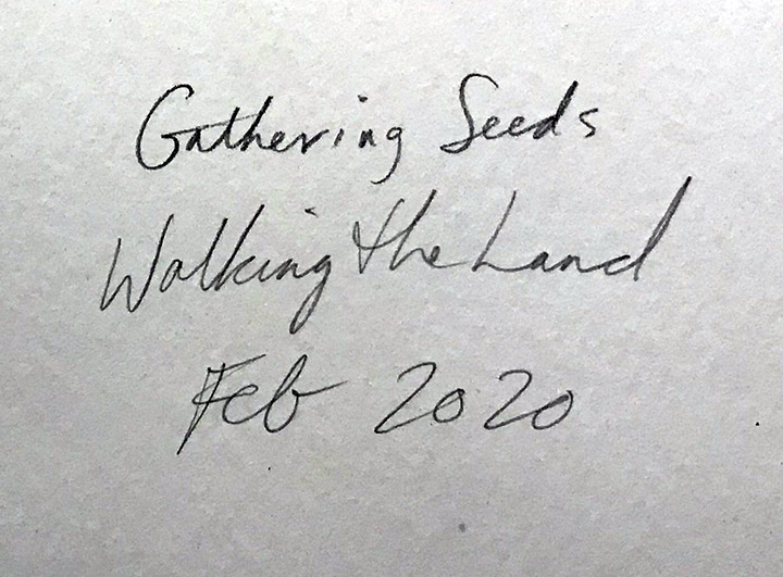 walking land title