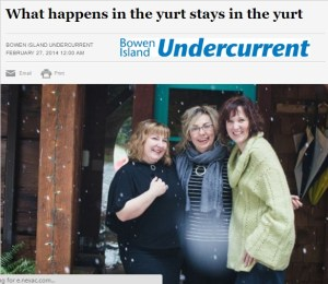Bowen Island Undercurrent 2015 Live Your Best Story
